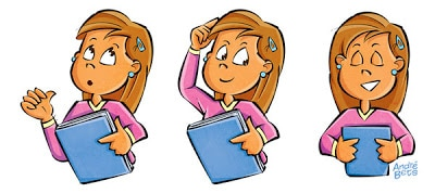 ilustrações para livros didáticos