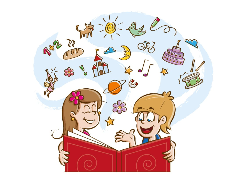 ilustração para livros infantis